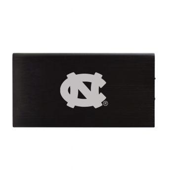 8000 mAh Portable Cell Phone Charger-University of North Carolina-Black
