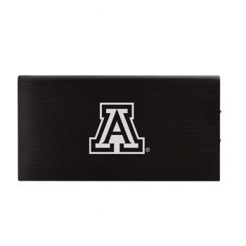 8000 mAh Portable Cell Phone Charger-Arizona Wildcats -Black