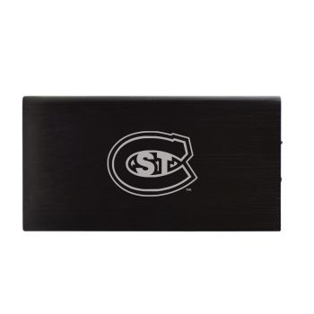 8000 mAh Portable Cell Phone Charger-St. Cloud State University -Black