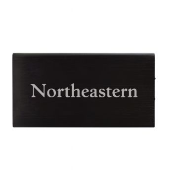 8000 mAh Portable Cell Phone Charger-Northeastern University -Black