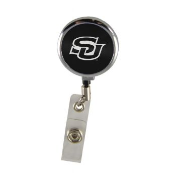 Southern University-Retractable Badge Reel-Black