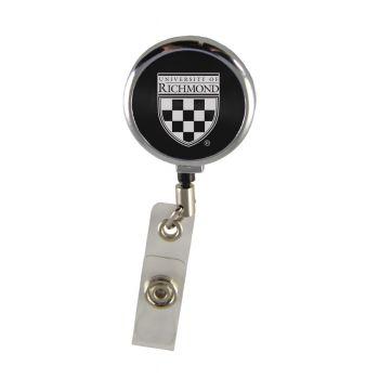 University of Richmond-Retractable Badge Reel-Black