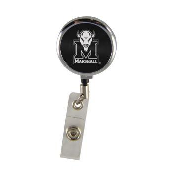Marshall University-Retractable Badge Reel-Black