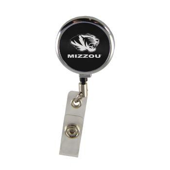 University of Missouri-Retractable Badge Reel-Black