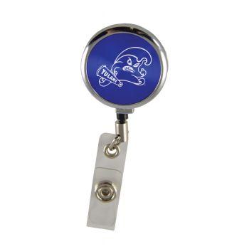 Tulane University-Retractable Badge Reel-Blue