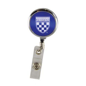 University of Richmond-Retractable Badge Reel-Blue