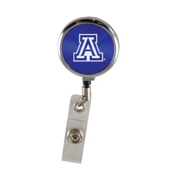Arizona Wildcats-Retractable Badge Reel-Blue