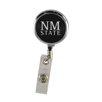 New Mexico State-Retractable Badge Reel-Black