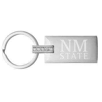 New Mexico State-Jeweled Key Tag