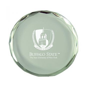 Buffalo State University -The State Universtiy of New York-Crystal Paper Weight