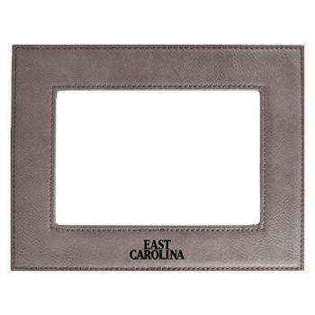 East Carolina University-Velour Picture Frame 4x6-Grey
