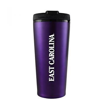 East Carolina University-16 oz. Travel Mug Tumbler-Purple