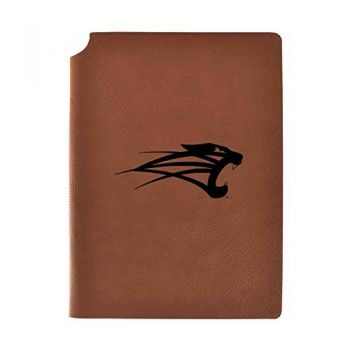 University of Saint Francis-Fort Wayne Velour Journal with Pen Holder|Carbon Etched|Officially Licensed Collegiate Journal|