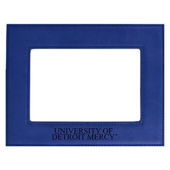University of Detroit Mercy-Velour Picture Frame 4x6-Blue