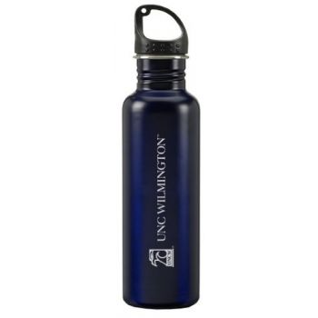 University of North Carolina Wilmington - 24-ounce Sport Water Bottle - Blue