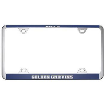Canisus College -Metal License Plate Frame-Blue