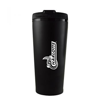 University of North Carolina at Charlotte -16 oz. Travel Mug Tumbler-Black