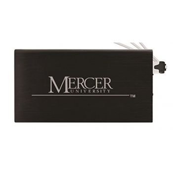 8000 mAh Portable Cell Phone Charger-Mercer University -Black