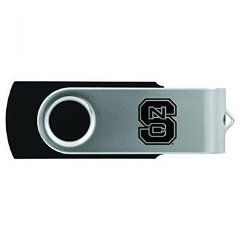 North Carolina State University -8GB 2.0 USB Flash Drive-Black