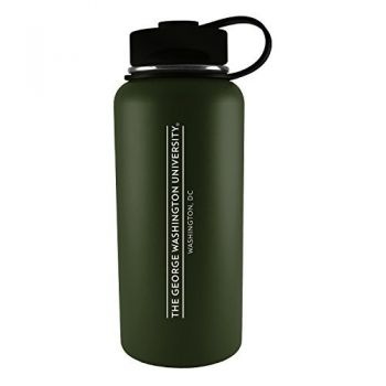 George Washington University -32 oz. Travel Tumbler-Gun Metal