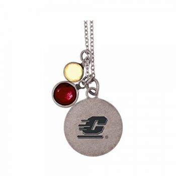 Central Michigan University-Frankie Tyler by LXG Charmed Necklace