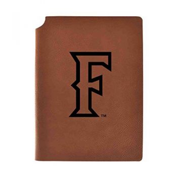 California State Univeristy Fullerton Velour Journal with Pen Holder|Carbon Etched|Officially Licensed Collegiate Journal|