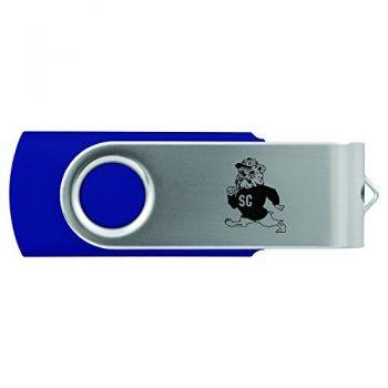 South Carolina State University -8GB 2.0 USB Flash Drive-Blue