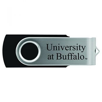 University at Buffalo-The State University of New York -8GB 2.0 USB Flash Drive-Black