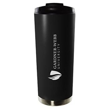 Gardner-Webb University-16oz. Stainless Steel Vacuum Insulated Travel Mug Tumbler-Black