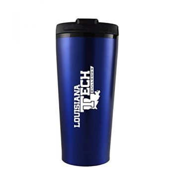 Louisiana Tech University -16 oz. Travel Mug Tumbler-Blue