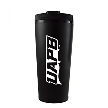 University of Arkansas at Pine Buff -16 oz. Travel Mug Tumbler-Gold