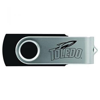 University of Toledo -8GB 2.0 USB Flash Drive-Black