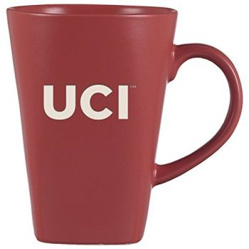 University of California, Irvine-14 oz. Ceramic Coffee Mug-Pink