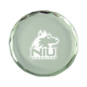 Northern Illinois University-Crystal Paper Weight