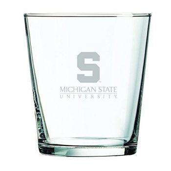 Michigan State University-13 oz. Rocks Glass