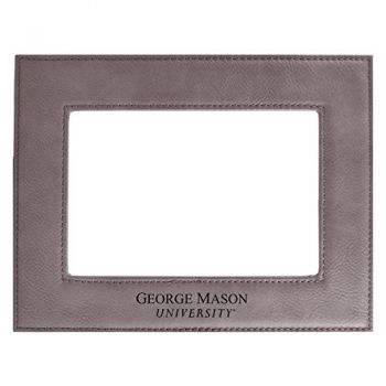 George Mason University-Velour Picture Frame 4x6-Grey