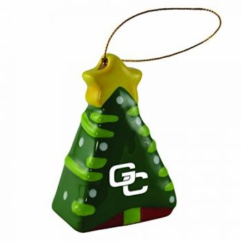 Georgia College-Christmas Tree Ornament