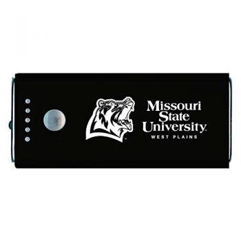Missouri State University -Portable Cell Phone 5200 mAh Power Bank Charger -Black