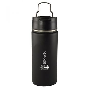 Brown University -20 oz. Travel Tumbler-Black