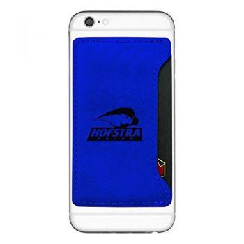 Hofstra University -Cell Phone Card Holder-Blue