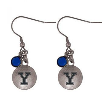 Yale University-Frankie Tyler Charmed Earrings