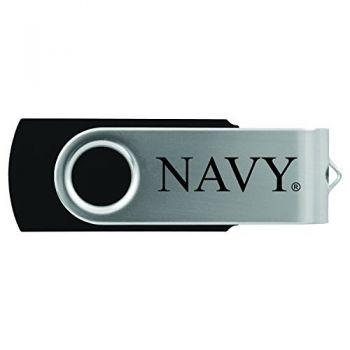 United States Naval Academy -8GB 2.0 USB Flash Drive-Black