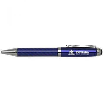 Montana State University -Carbon Fiber Mechanical Pencil-Blue