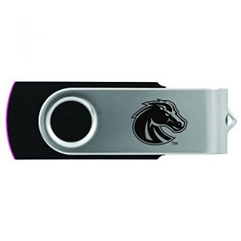Boise State University -8GB 2.0 USB Flash Drive-Black