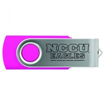 North Carolina Central University -8GB 2.0 USB Flash Drive-Pink