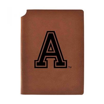 United States Military Academy Velour Journal with Pen Holder|Carbon Etched|Officially Licensed Collegiate Journal|