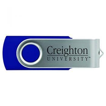 Creighton University -8GB 2.0 USB Flash Drive-Blue