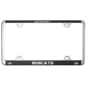 Ohio University -Metal License Plate Frame-Black