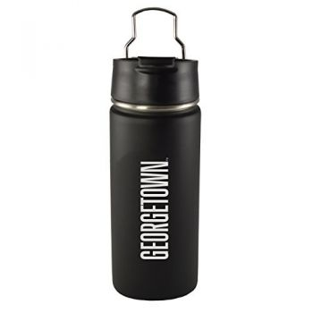 Georgetown University-20 oz. Travel Tumbler-Black