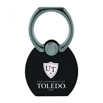 University of Toledo|Multi-Functional Phone Stand Tech Ring|Black